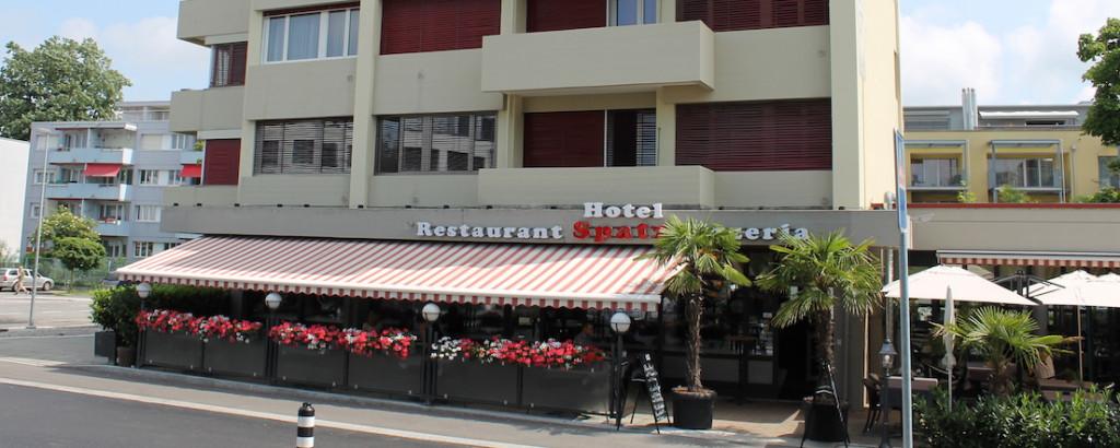 Hotel Restaurant Pizzeria Spatz Lyss b. Biel Holzofenpizza